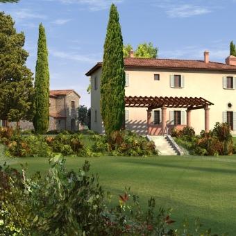 """Complesso residenziale """"Isola di Cortona"""" (AR)"""