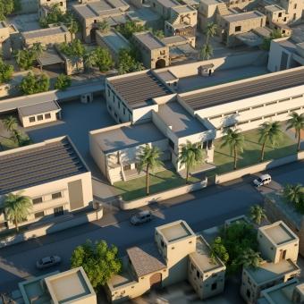Progetto per scuola a Baghdad